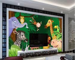 Livingroom Cartoon Beibehang Custom Wallpaper Living Room Bedroom Background 3d