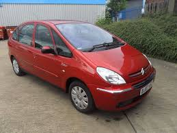 citroen xsara picasso 1 6 vtx 5 door petrol manual 2007 in