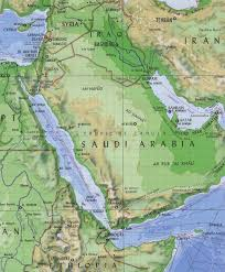 Middle East On World Map by Red Sea On World Map Roundtripticket Me