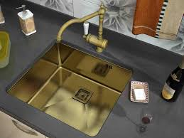 gold kitchen faucet sink u0026 faucet extraordinary gold stainless kitchen sink for