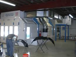 automotive spray booths u2022 polar automotive paint booths