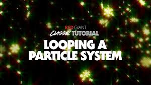 classic christmas motion background animation perfecty loops classic tutorial looping a particle system
