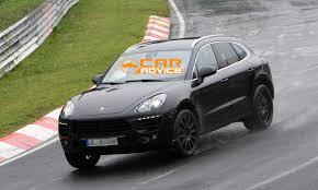 Porsche Cayenne Macan - porsche macan first look inside baby cayenne photos 1 of 9