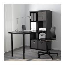 bureau expedit ikea kallax combinaison bureau blanc ikea