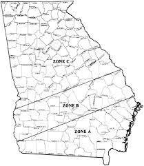 Athens Ga Zip Code Map by Citrus Fruit For Southern And Coastal Georgia Uga Cooperative