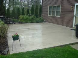 colored concrete patios