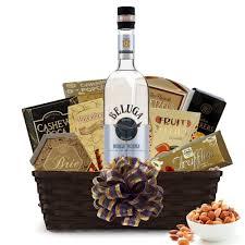 vodka gift baskets buy beluga noble russian vodka gift baskets online vodka gift