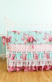 bedding set shabby chic nursery bedding aligned baby crib sheets