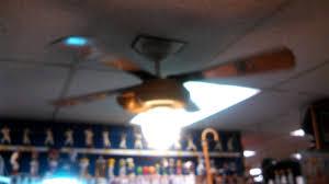 hunter baseball ceiling fan hunter baseball ceiling fan and a hugger ceiling fan in a shoe store