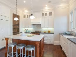 two tone kitchen with dual viking refrigerators transitional