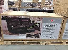 pulaski leather sofa costco pulaski furniture leather reclining loveseat costcochaser