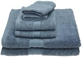 amazon com revere mills forever color 6 piece towel set heather