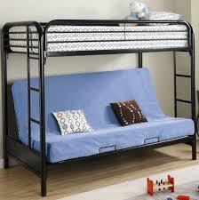 Black Futon Bunk Bed Futon Bunk Bed Black Metal Home Design Ideas