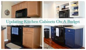 How To Modernize Kitchen Cabinets How To Update Kitchen Cabinets On A Budget Sweet Tea U0026 Saving Grace