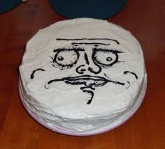 Birthday Cake Meme - internet meme and rage comics cakes and cupcakes cakes and