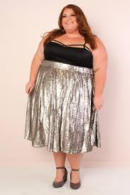 sequin skirt plus size mermaiden sequin midi skirt silver society plus