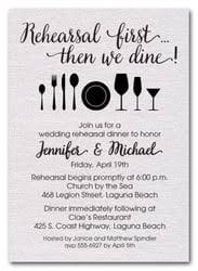 rehearsal dinner invitation srehearsal wedding rehearsal dinner party invitations shimmery white jpg