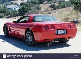 2001 c5 corvette chevrolet corvette c5 z06 model 2001 rear 3 4 view stock
