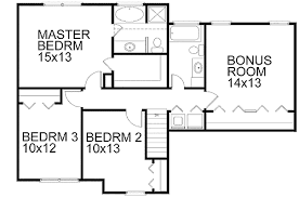 starter home floor plans classic two story starter home 2077ga architectural designs