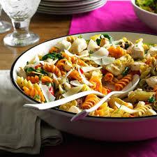 mediterranean chicken pasta recipe taste of home