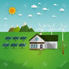 Eco Friendly House by Green Energy An Eco Friendly House Solar Energy Wind Energy