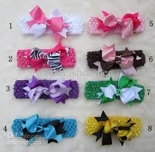handmade bow boutique hair bow handmade ribbon hairbows hairband