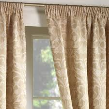 luxury jacquard curtains heavy weight fully lined pencil pleat