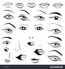 sketching of lips drawing art gallery