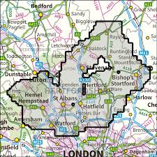 atlas k che hertfordshire way os 1 25 000 explorer anquet maps