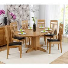 160cm long rectangular extending dining tables bergen oak