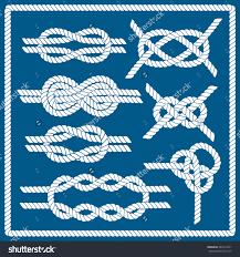 sailor knot set nautical infinity sign corner element
