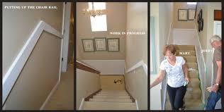 inexpensive stairway hallway update sincerely sara d