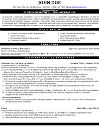 Customer Service Resumes Examples by Resume Sample For Customer Service Administrator Resume Ixiplay