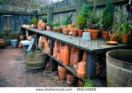 Garden Potting Bench Potting Bench Stock Images Royalty Free Images U0026 Vectors