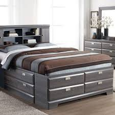 Storage Bed With Headboard Wonderful Bookcase Design King Headboard Headboards For