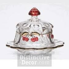 Distinctive Decor Coupon Code Mosser Grapes U0026 Cherries Vaseline Opalescent Bowl 45 Use Coupon