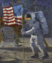 American Flag On The Moon Collection Index