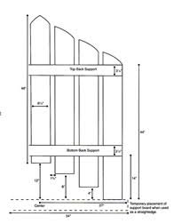 create this cottage style picket fence headboard matt and shari