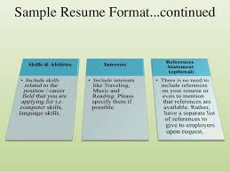 How To List References On Your Resume How To Prepare A Great Resume