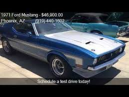 ford mustangs for sale in arizona 1971 ford mustang 351 for sale in az 85033 at
