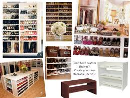 chic shoe closet organizer pinterest roselawnlutheran