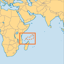 Africa On The Map by Seychelles Operation World