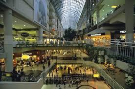 shopping mall toronto photo travel idea canada