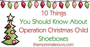 10 things you should know about occ shoeboxes