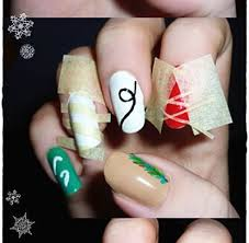 christmas nail ornament how you can do it at home pictures