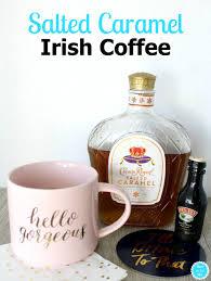 salted caramel martini recipe salted caramel irish coffee recipe irish coffee coffee recipes