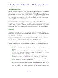 Follow Up Resume Email Sample by Follow Up Letters Samples Docshare Tips