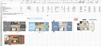 keystone travel trailer floor plans the rv buying process for two gals and a dog part 1 rollin on tv