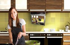under cabinet dvd player mount enjoying favorites programs while cooking using kitchen tvs home