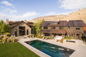 Backyard Pool And Basketball Court Sun Valley Stunner With Indoor Basketball Court Asks 15 9m